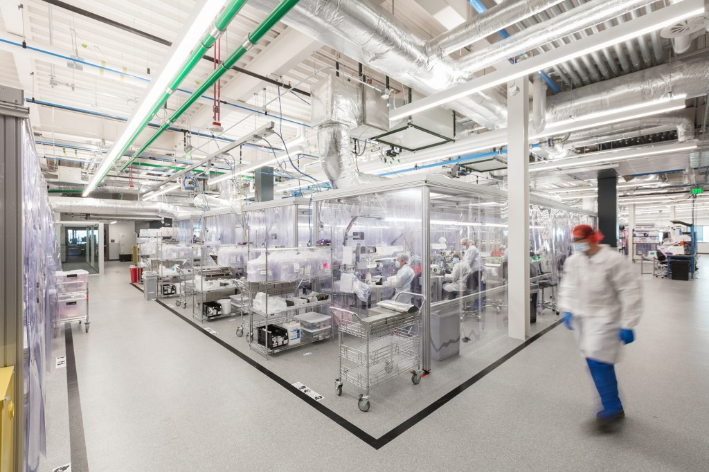 Biofire Manufacturing Cleanroom