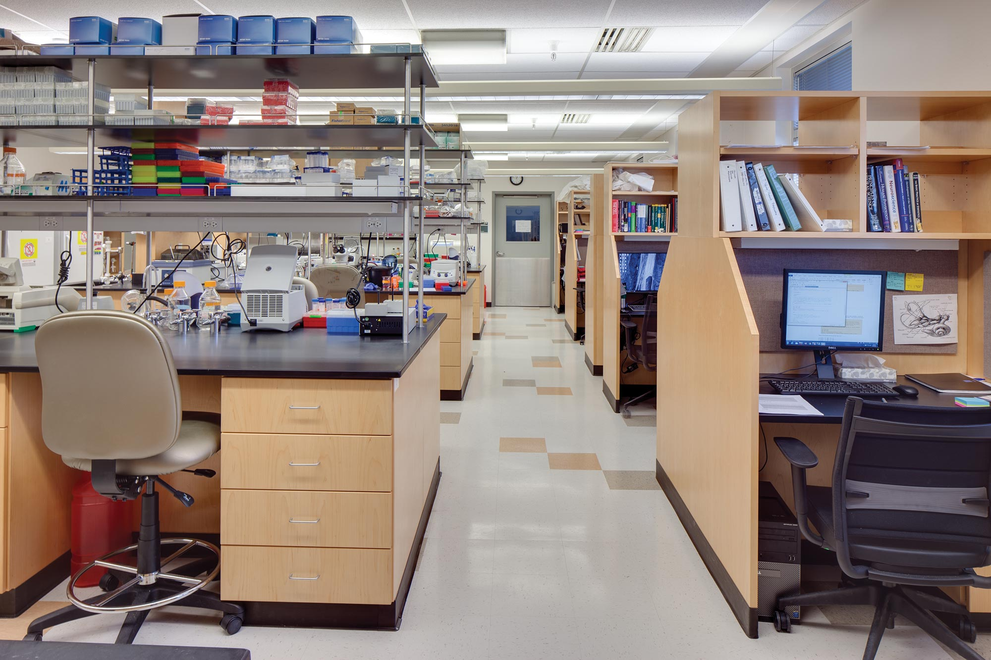 Biopolymers-Interior-Lab-bench-researcher-Space