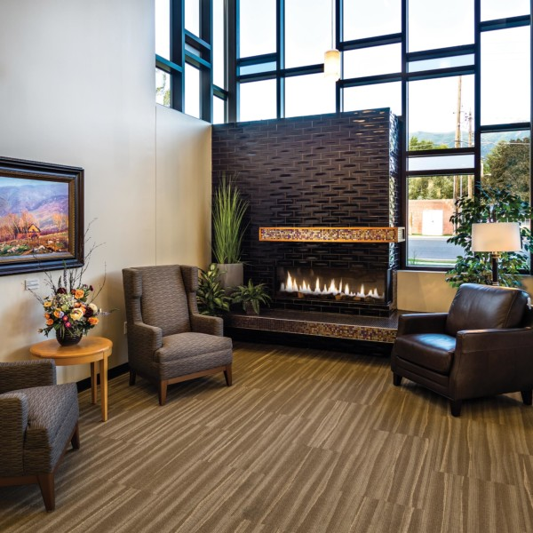 Kaysville-Library-Interior-fireplace-Reading