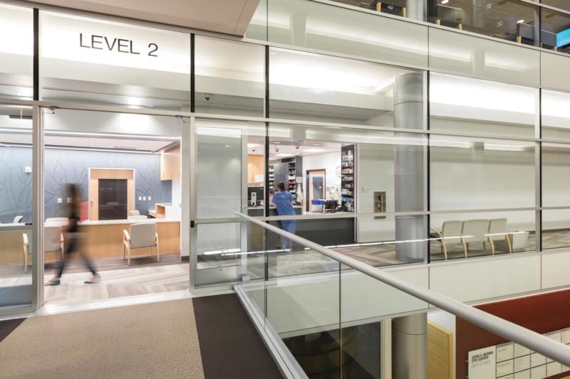 Moran-Eye-Center-Interior-atrium-Bridge-Pharmacy-Reception