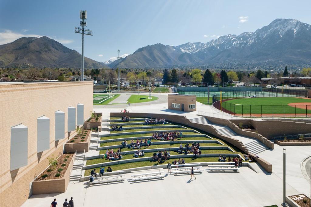 Olympus-High-School-Exterior-Amphitheater