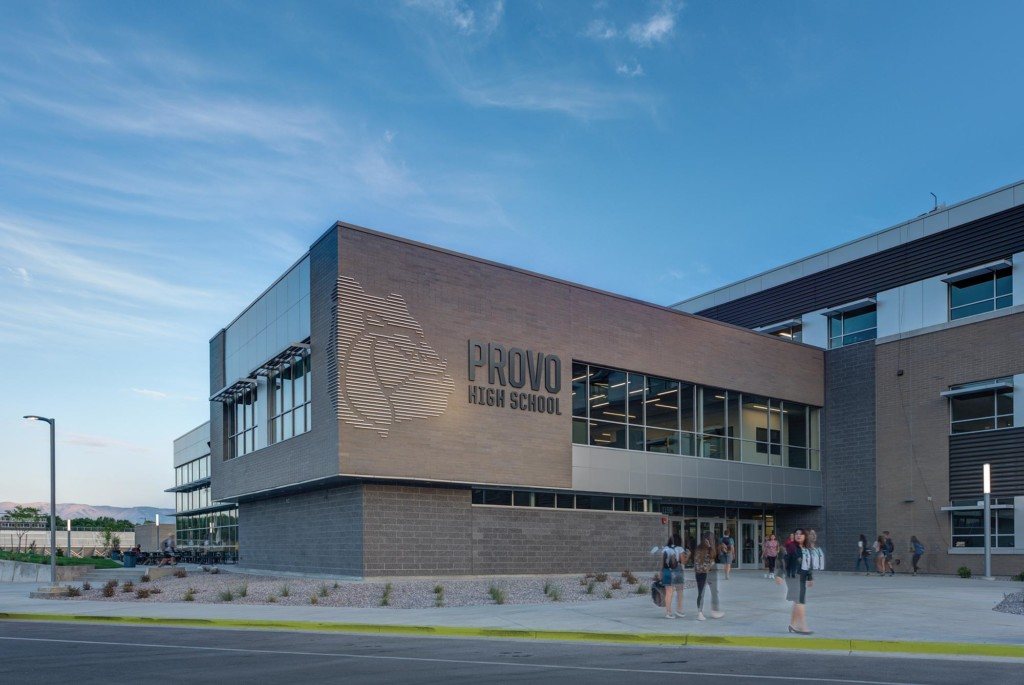 Provo-High-School-Exterior-Main-Entrance