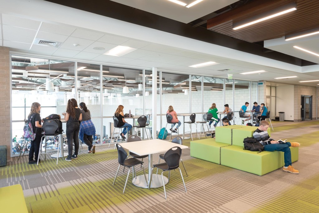 Provo-High-School-Interior-Library