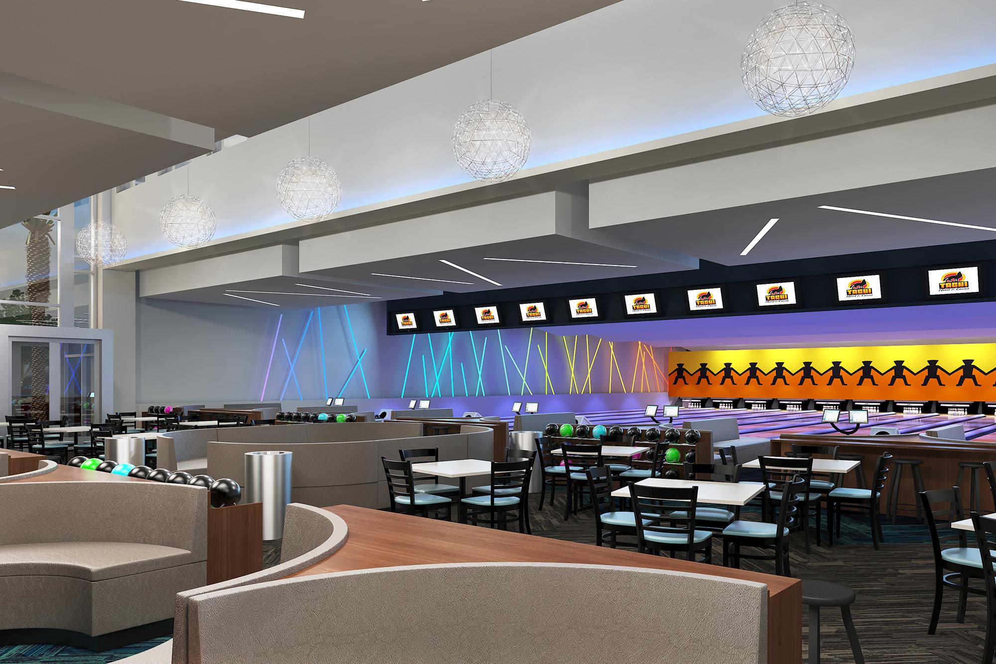 Tachi Palace Family Entertainment Center Ffkr Architects