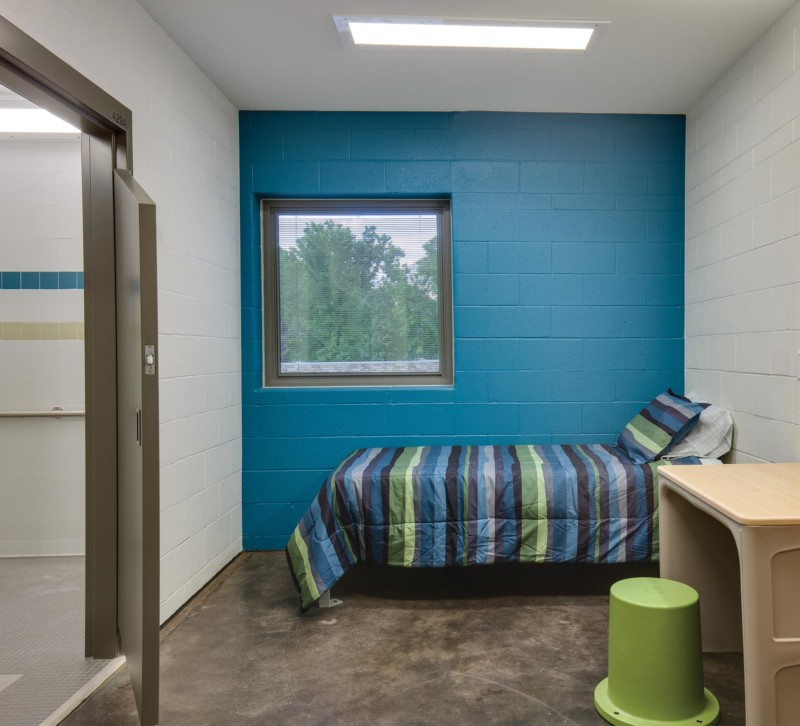 Utah-State-Hospital-Interior-Patient-Room