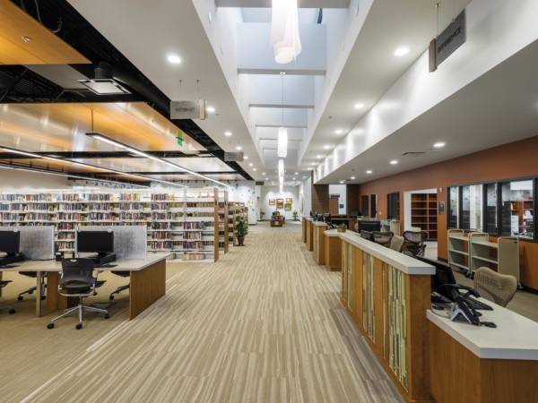 Kaysville-Library-Interior-Circulation