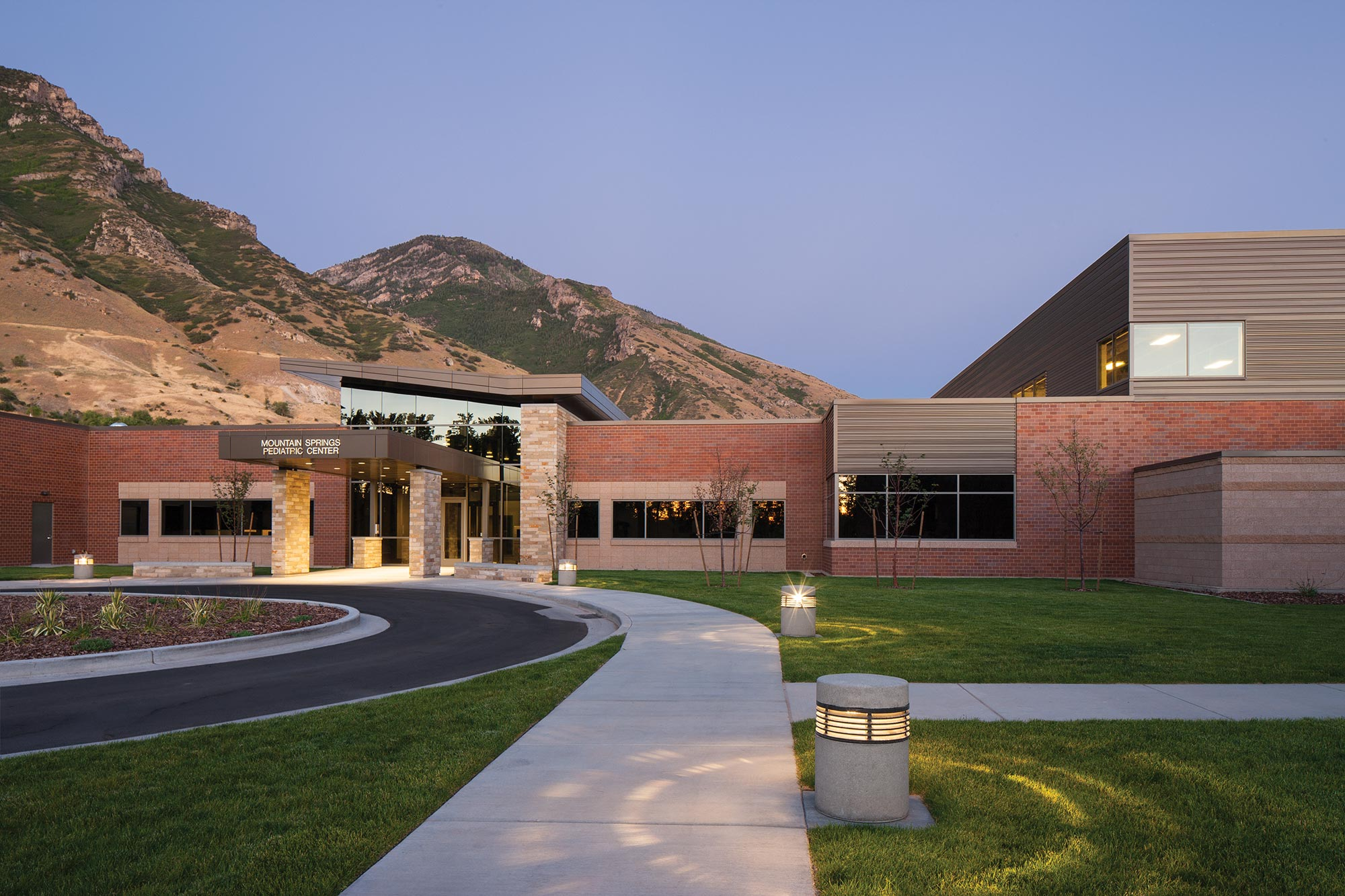 Utah-State-Hospital-Exterior-Pediatric-Entrance