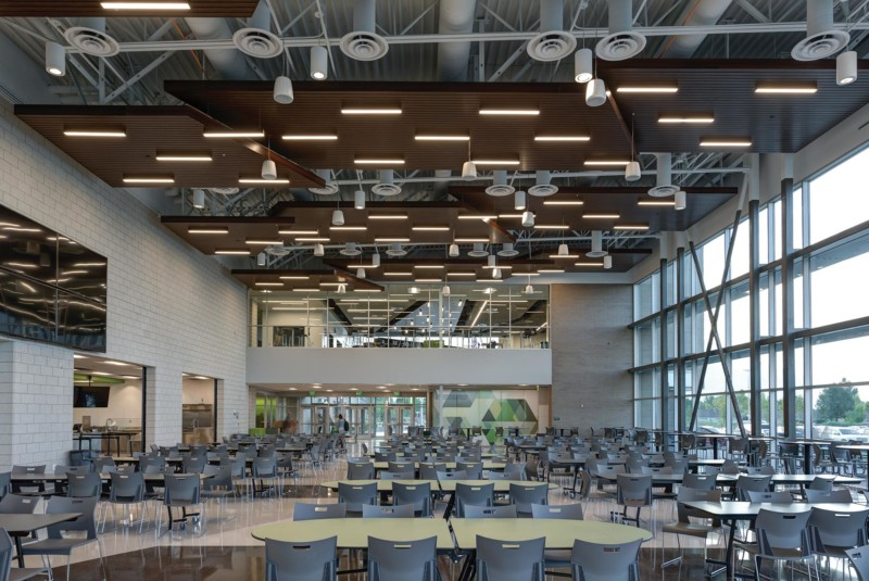 Provo-High-School-Interior-Cafeteria-Looking-to-Library