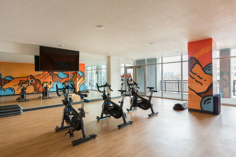 Fitness Center at Milagro Apartments
